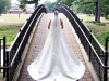 Bride on Bridge Chartiers Country Club