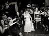 Bride dancing with friends Chartiers Country Club