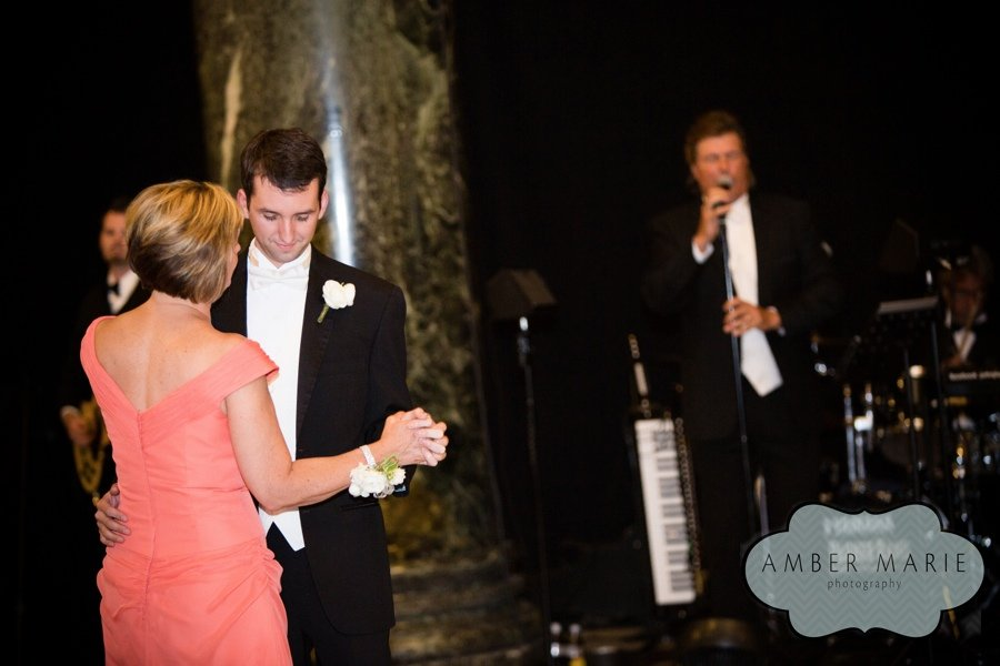 Mother and son dance with John Parker Band playing at a Carnegie Music ...