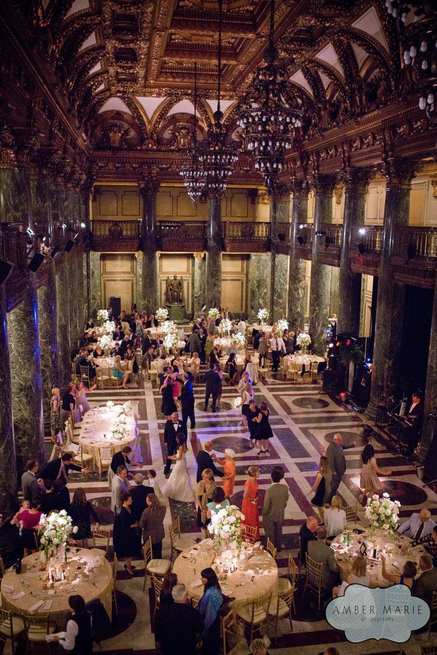 Carnegie Music Hall Pittsburgh Wedding Reception