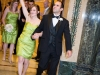 Bridal party enters wedding reception at the Carnegie Music Hall in PIttsburgh.