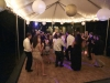 Guests Dancing Under Tent at Galleria Marchetti Wedding