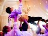 Guests Lift Groom at Galleria Marchetti Wedding