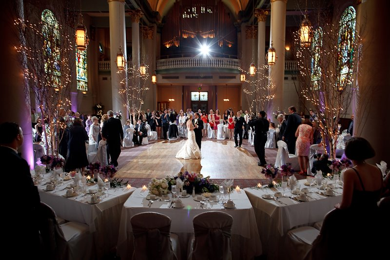 Grand Hall At The Priory Weddings