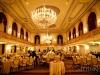 Omni William Penn Wedding Lit Up Ballroom