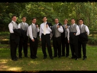 Outdoor Tent Wedding - John Parker Band 027