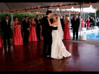 Outdoor Tent Wedding - John Parker Band 067