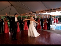 Outdoor Tent Wedding - John Parker Band 069