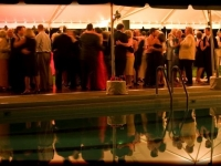 Outdoor Tent Wedding - John Parker Band 077