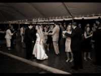 Outdoor Tent Wedding - John Parker Band 079