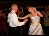Outdoor Tent Wedding - John Parker Band 081