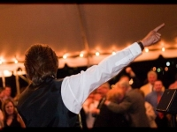 Outdoor Tent Wedding - John Parker Band 083