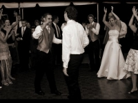 Outdoor Tent Wedding - John Parker Band 089