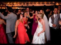 Outdoor Tent Wedding - John Parker Band 093