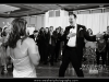 The groom dancing and singing along with the John Parker Band at the PGA Resort in Palm Beach Gardens.