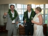 Best man toast the couple at Riverside Hotel wedding in Ft. Lauderdale