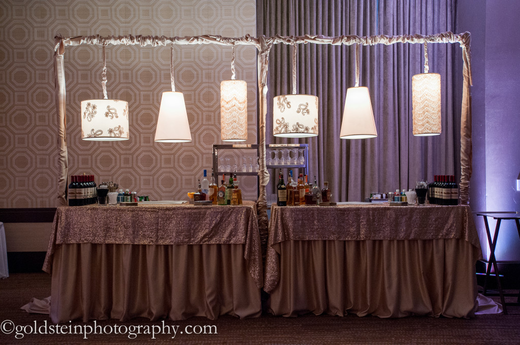 Fairmont Hotel Wedding Reception - Dinner and Dessert