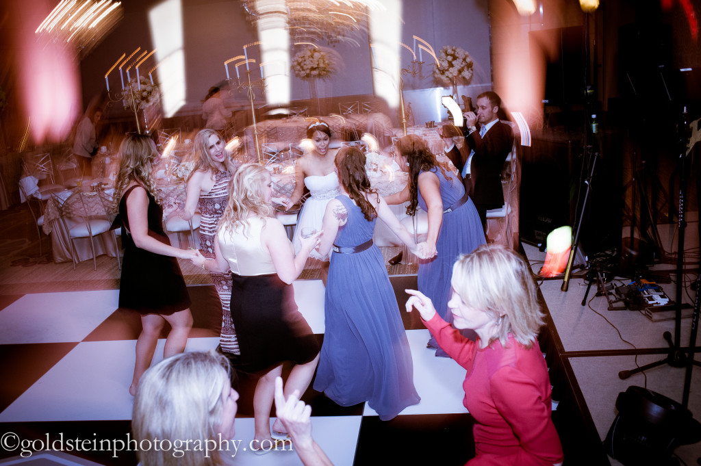 Fairmont Hotel Wedding Reception - Dizzying Dancing in Ballroom