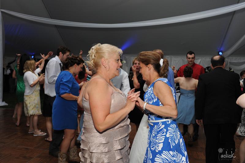 The Links Bloomsburg Wedding Reception Guests Enjoying Dance Floor