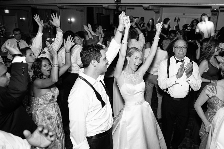 Omni William Penn Wedding Bride and Groom Dancing and Enjoying the Reception