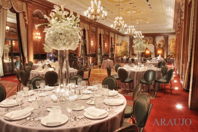 Duquesne Club Wedding Recpetion: Lovely Reception Space