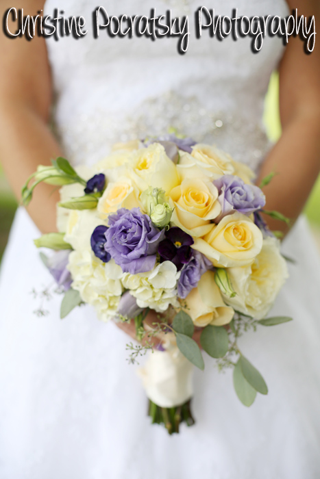 Hopwood social wedding adam nikki john parker band hopwood social hall wedding yellow and purple bridal bouquet mightylinksfo