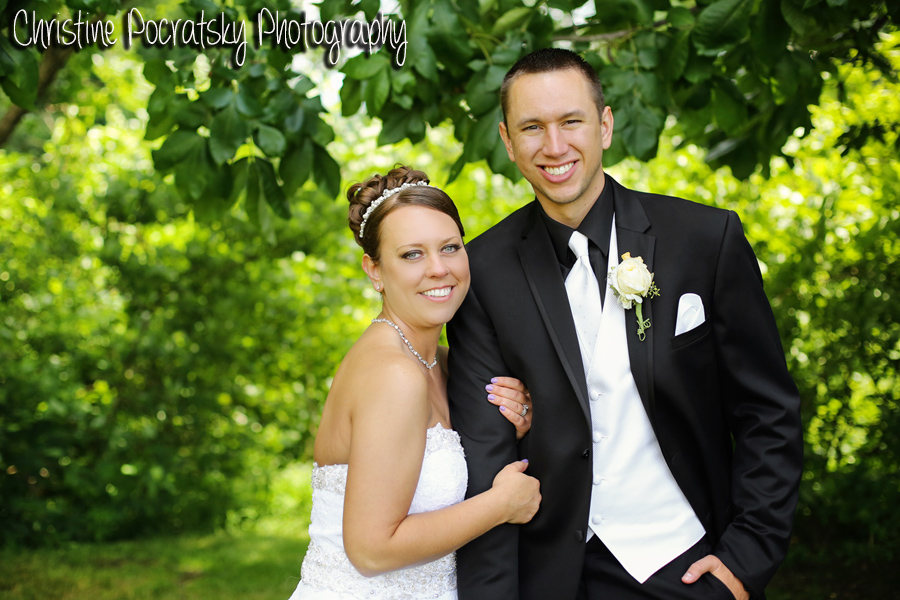 Hopwood Social Hall Wedding - Bride and Groom Stand Arm-in-Arm