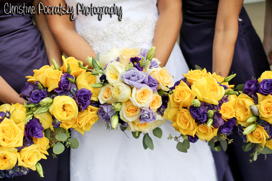 Hopwood social wedding adam nikki john parker band hopwood social hall wedding bridesmaids yellow and purple bouquets mightylinksfo