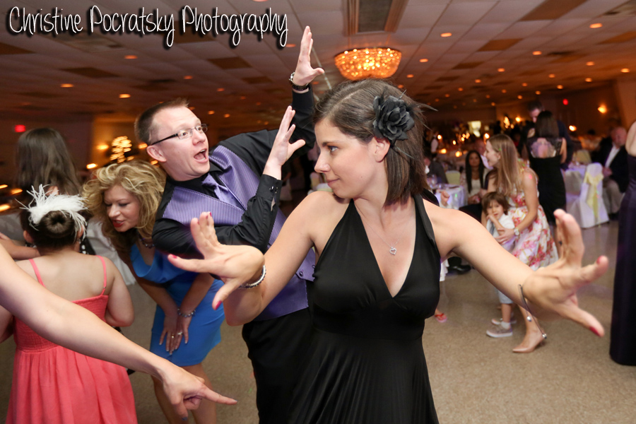 Hopwood Social Hall Wedding Reception - Guests Take Over Dance Floor