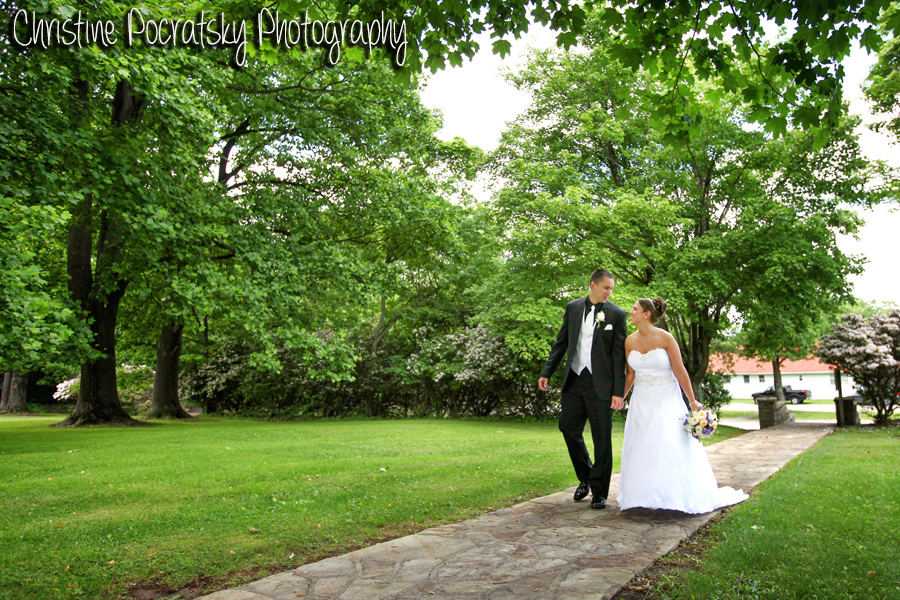Hopwood Social Hall Wedding Ceremony - Newlyweds Leave Church