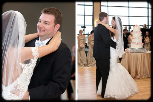 Power Center Ballroom Pittsburgh Wedding Reception - Newlywed's First Dance