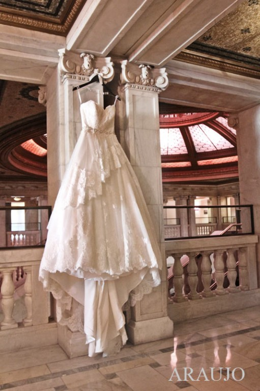 Renaissance Hotel Wedding - Ballgown Style Wedding Dress