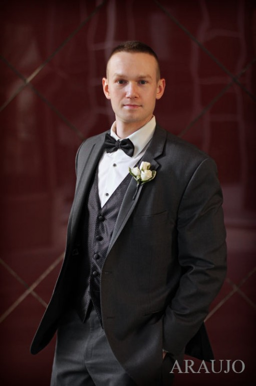 Renaissance Hotel Wedding - Groom in Traditional Tuxedo