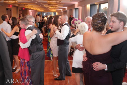 Renaissance Hotel Wedding Reception - Guests Slow Dancing