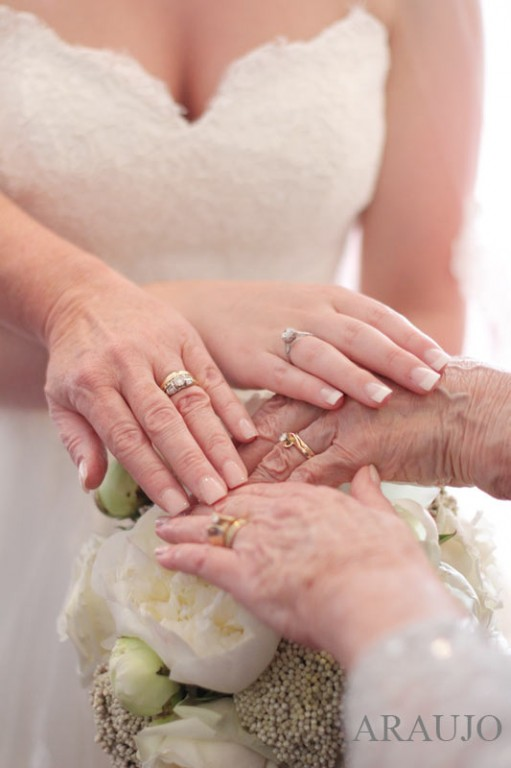 Renaissance Hotel Wedding - Wedding Rings from Four Generations