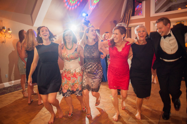 The Club at Nevillewood Wedding Reception: Women Having Fun at Wedding