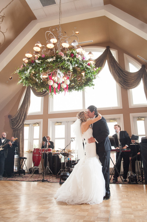 The Club at Nevillewood Wedding Reception: Couple Sharing First Dance