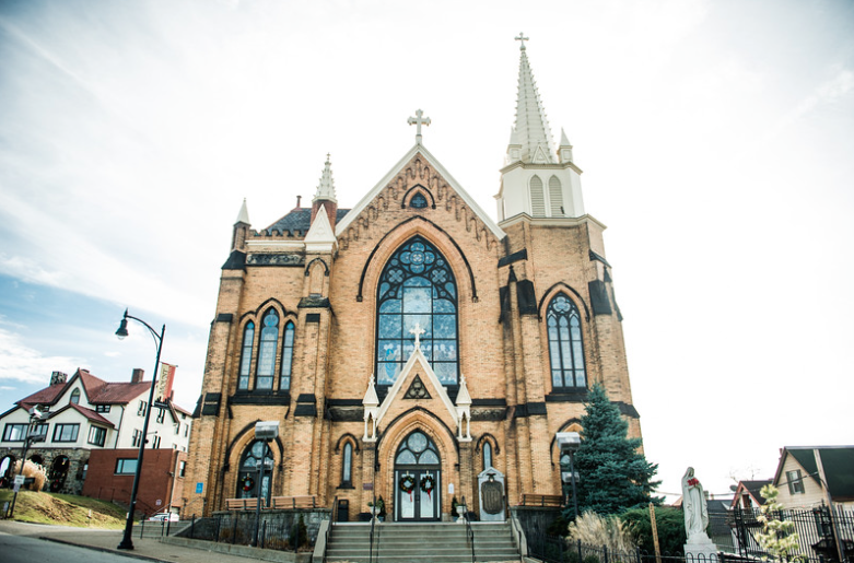Longue Vue Club Wedding Ceremony: St. Mary's on the Mount Church