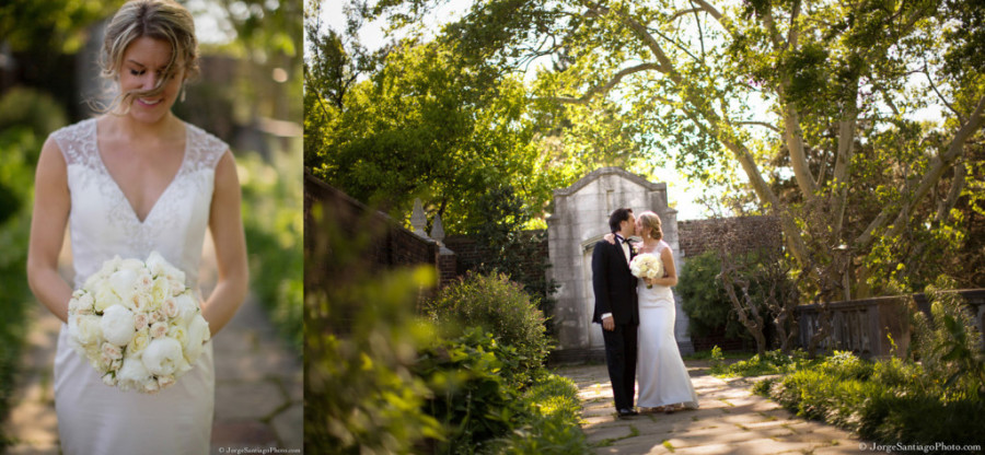 Duquesne University Ballroom Wedding - Newlyweds Tour Garden