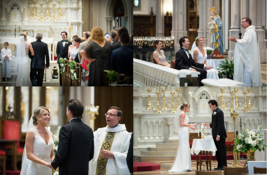 Duquesne University Ballroom Wedding - St. Paul's Cathedral Ceremony