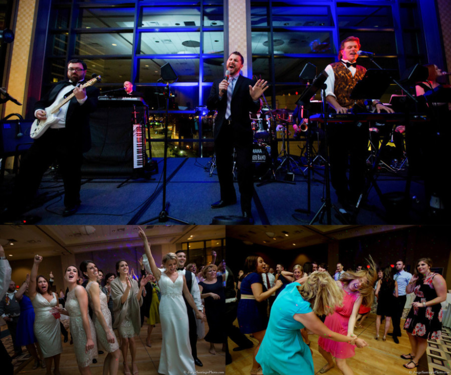 Duquesne University Ballroom Wedding - Band Gets Guests on Dance Floor