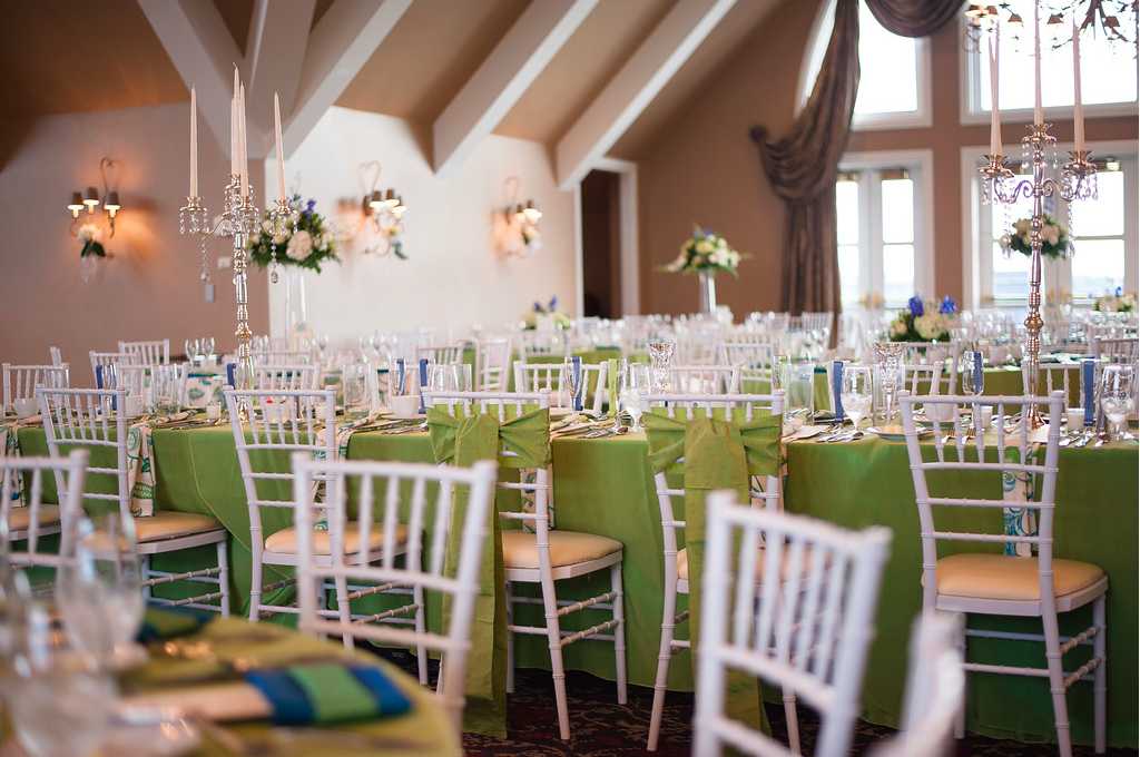 Nevillewood Country Club Modern Elegant Fresh Wedding Reception