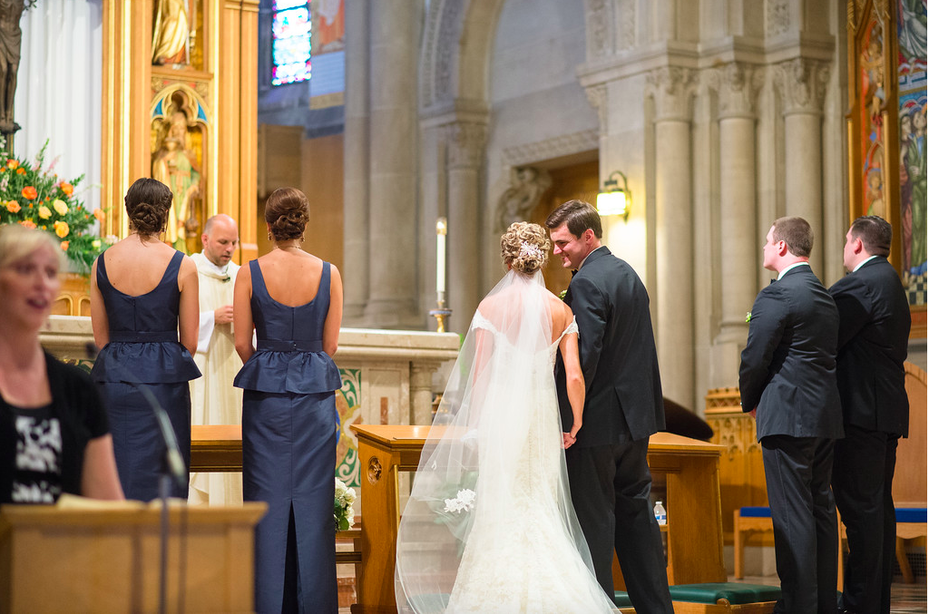 St. Bernard's Cathedral Wedding Ceremony