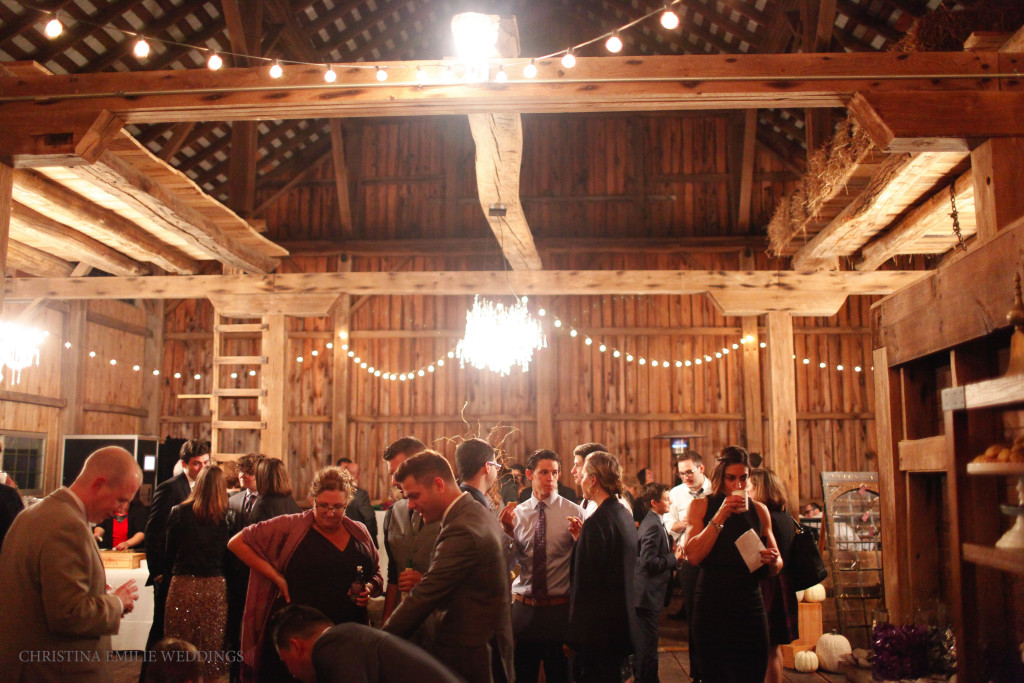 Rustic Acres Farm Pittsburgh Wedding Rustic Glam Barn Reception