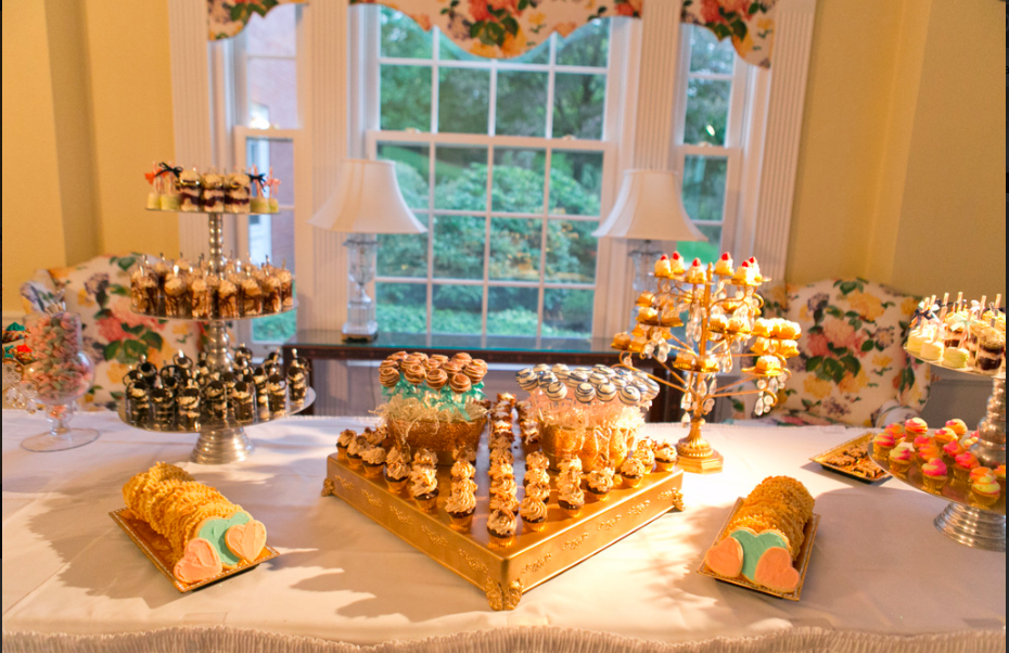 Fox Chapel Golf Club Pittsburgh Glam Dessert Table