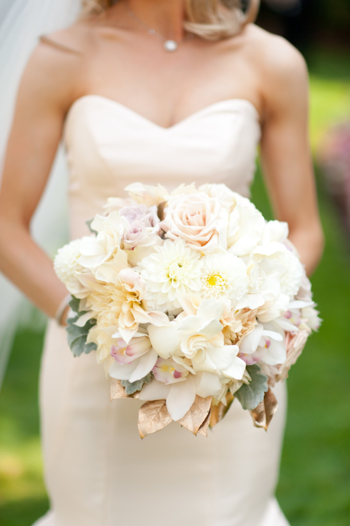 Hotel Monaco Wedding Closeup Bride Bouquet