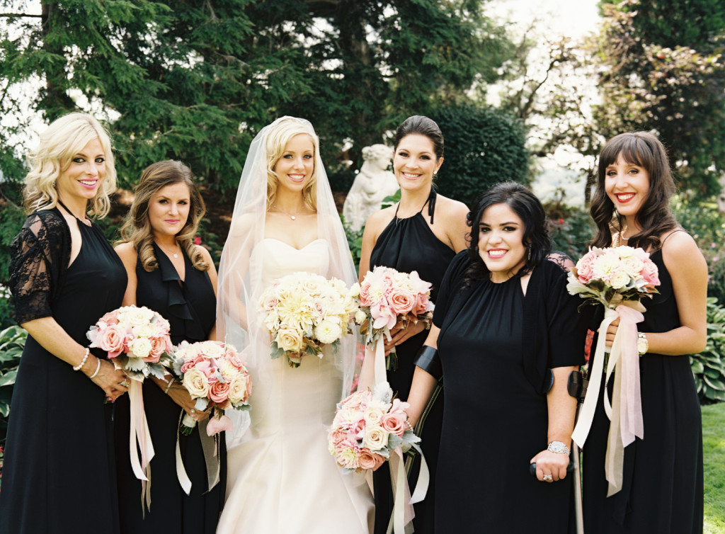 Hotel Monaco Wedding Bride and Bridesmaids