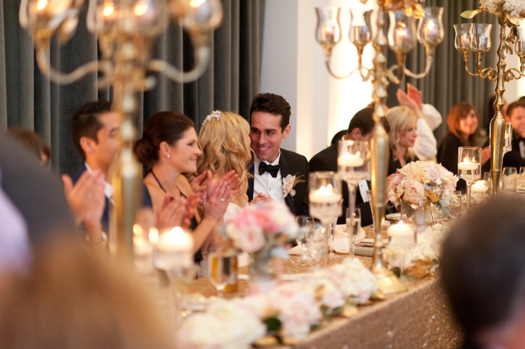 Hotel Monaco Wedding Bride and Groom Toasts