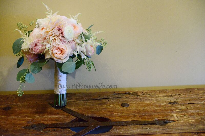 Shakespeare's Restaurant Wedding Bride Bouquet