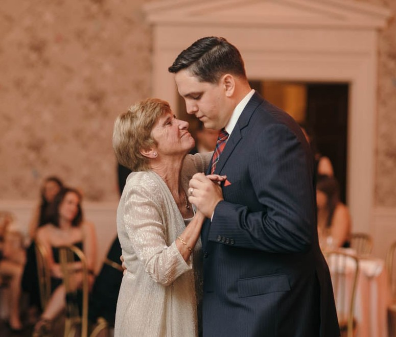 Country Club Pittsburgh Wedding Groom Dancing Mother